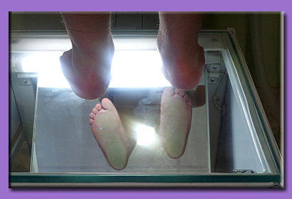 ravna stopala ogledalo